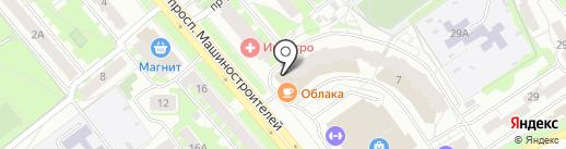 ЭЛМИГ на карте Ярославля