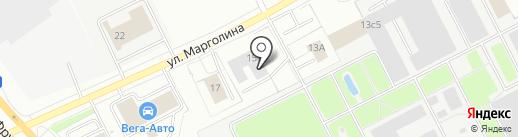 РИВСАН на карте Ярославля