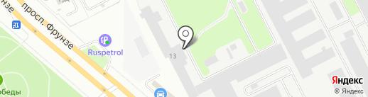 МетрЫ на карте Ярославля