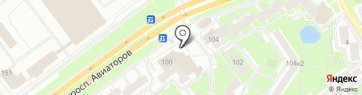 Урядышева А.Н. на карте Ярославля