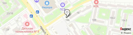 Светлана на карте Ярославля