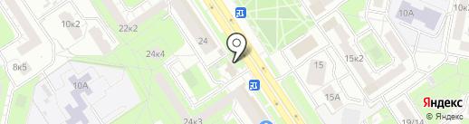 Сгомонь на карте Ярославля