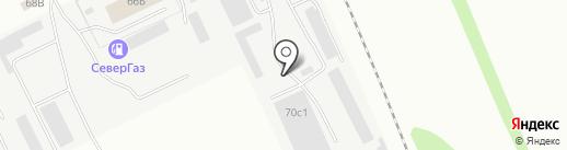 Биосфера на карте Вологды