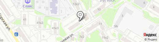 На Сосновой 14 на карте Ярославля