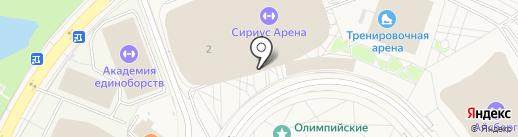 Центр гимнастики Юлии Барсуковой на карте Сочи