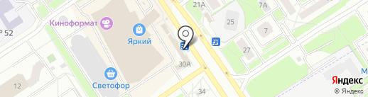 Магазин табачной продукции на карте Ярославля