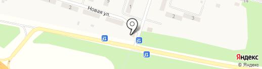 Лагуна на карте Листвянки
