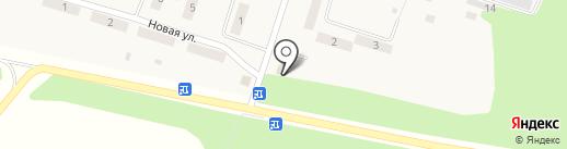 Ладья на карте Листвянки