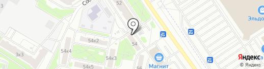 Альма на карте Ярославля