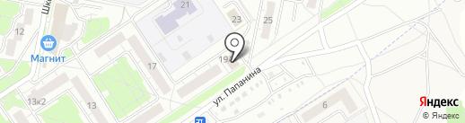Кураж на карте Ярославля
