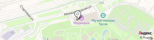 Автомузей на карте Сочи