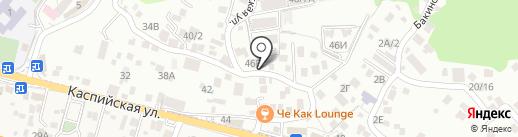 Нор-Луйс на карте Сочи