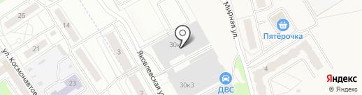 Айсберг на карте Ярославля