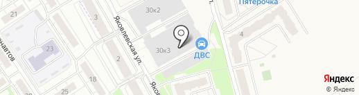 Norma на карте Ярославля