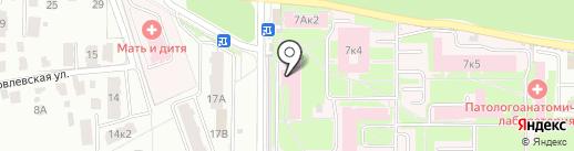 Банкомат, Банк ВТБ 24, ПАО на карте Ярославля