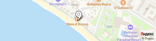 Mare d`Amore на карте Сочи