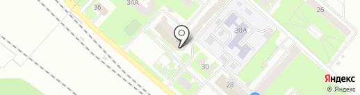 Городская библиотека №3 на карте Вологды