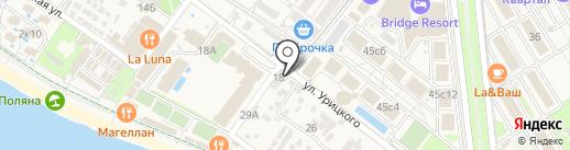 Гостевой дом на карте Сочи