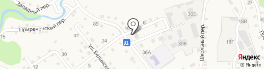 Каменномостский 1 на карте Каменномостского