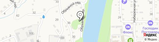 На Белой на карте Каменномостского