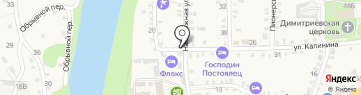 ИнАвто на карте Каменномостского