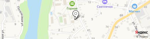 Участковый пункт полиции №5 на карте Каменномостского