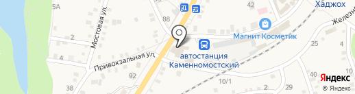 Чародейка на карте Каменномостского