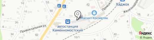Дровосек на карте Каменномостского