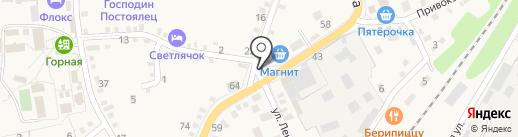 Рынок на карте Каменномостского