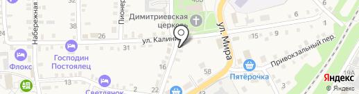 Сельское отделение почтовой связи на карте Каменномостского