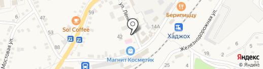 Магазин смешанного типа на карте Каменномостского