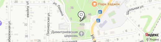 Отдел доставки пенсии на карте Каменномостского