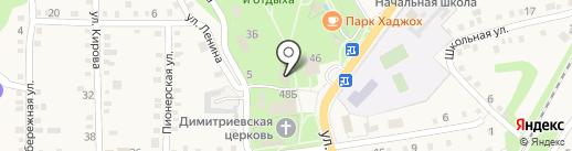 Мировые судьи Майкопского района на карте Каменномостского