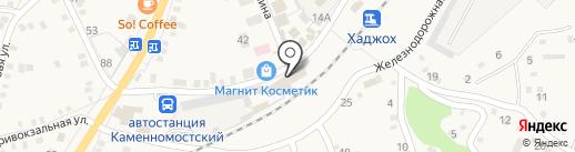 Магазин бытовой техники и товаров для туризма на карте Каменномостского