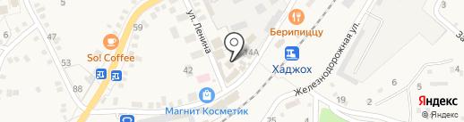 Мясной магазин на карте Каменномостского