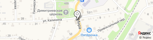 BerrЛога на карте Каменномостского