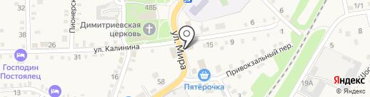 Апрель на карте Каменномостского