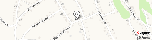 Перекресток на карте Каменномостского