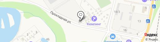 Хуторок на карте Каменномостского