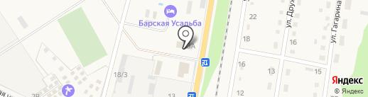 Графство Хаджох на карте Каменномостского