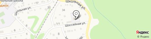 Майкопский политехнический техникум на карте Каменномостского