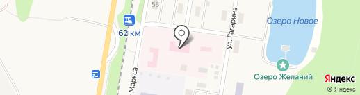 Стоматологическая поликлиника на карте Каменномостского