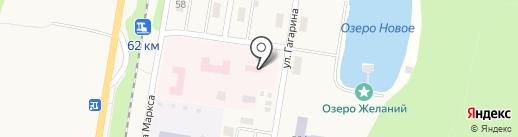 Пункт скорой медицинской помощи на карте Каменномостского