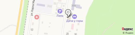 Сельская библиотека №2 на карте Каменномостского