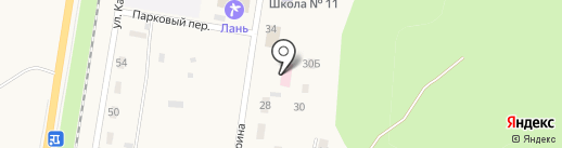 Каменномостская поликлиника на карте Каменномостского