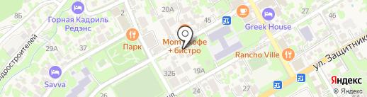 ABC-Баня на карте Сочи