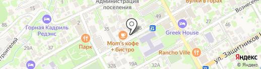 G8 на карте Сочи