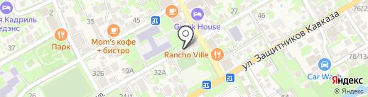 Магазин одежды на карте Сочи