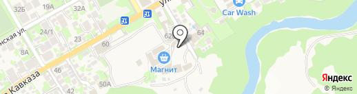 Барин на карте Сочи