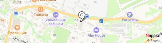 EGOISTO Spa & Beauty на карте Сочи